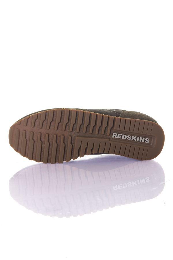 Baskets En Toile Homme Chaussures Redskins ISOPE KAKI NOIR