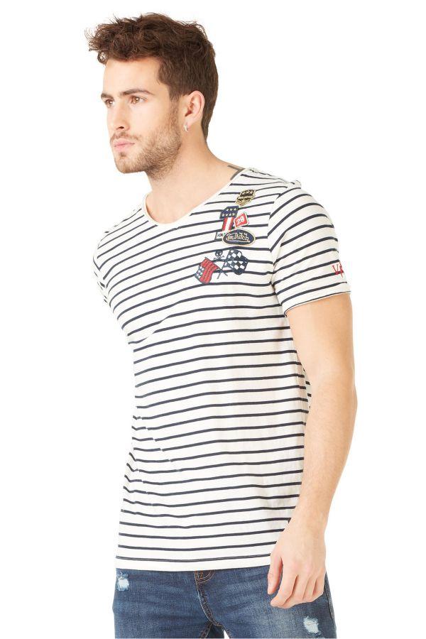 Tee Shirt Homme Von Dutch TSHIRT GARY / E