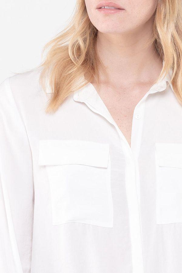 Chemise Femme Le Temps Des Cerises CHE JOANA WHITE