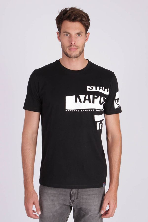 Tee Shirt Homme Kaporal GARM BLACK