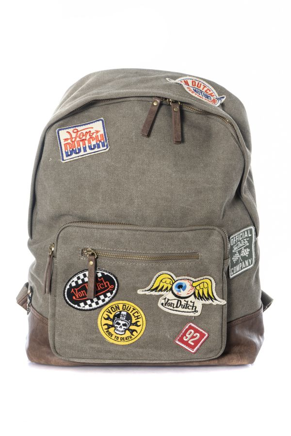 Sacs Mixte Von Dutch VD CARTOON KAKI