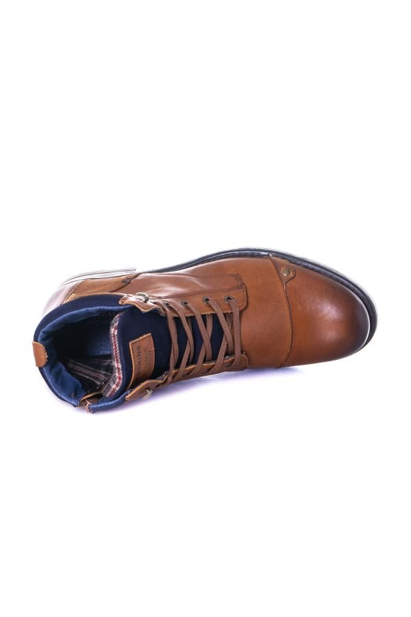 Boots / Bottes Homme Chaussures Redskins YANI COGNAC MARINE