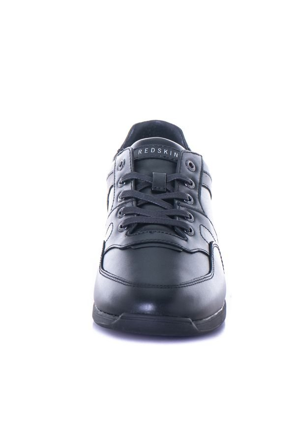 Baskets En Cuir Homme Chaussures Redskins CORENTIN NOIR