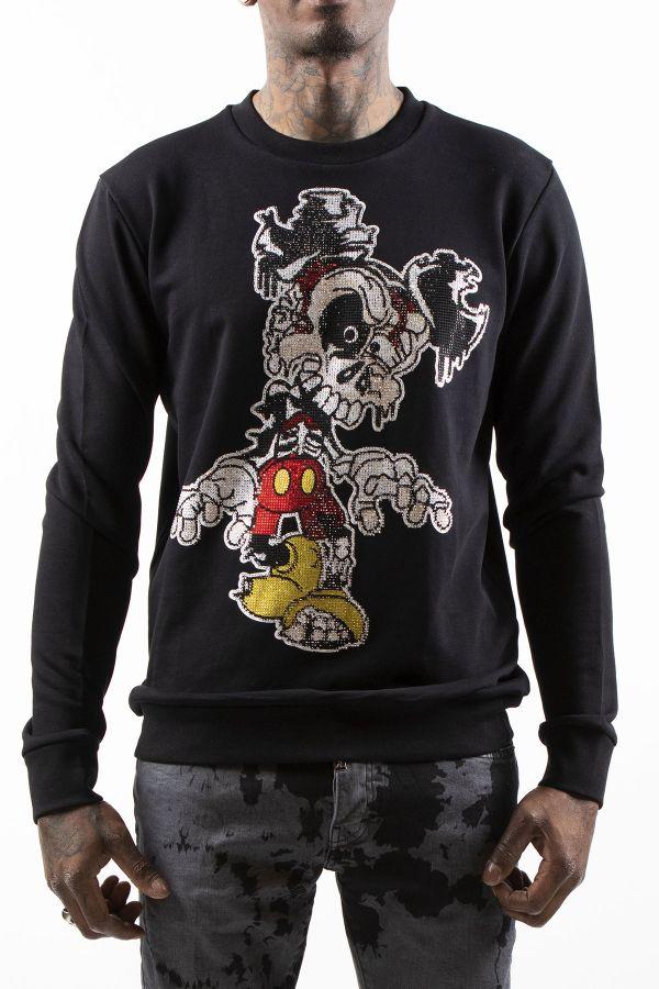 Pull/sweatshirt Homme Horspist DESTROY BLACK