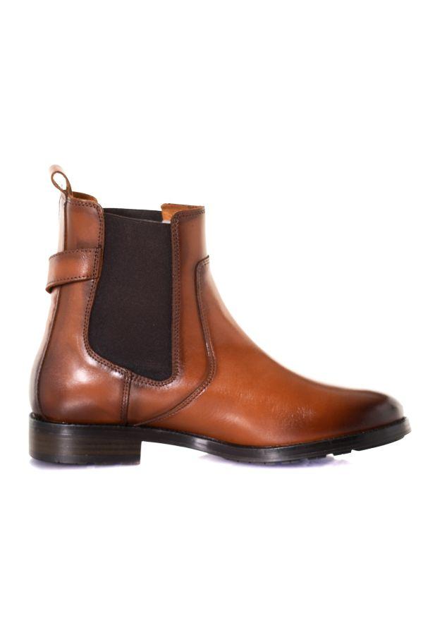 Boots / Bottes Femme Chaussures Redskins MAGIC COGNAC