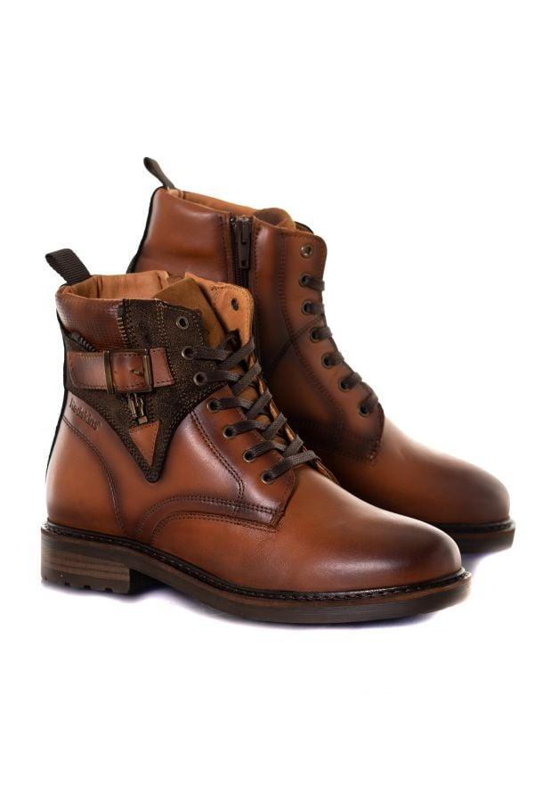 Boots / Bottes Femme Chaussures Redskins FELINE COGNAC MARRON