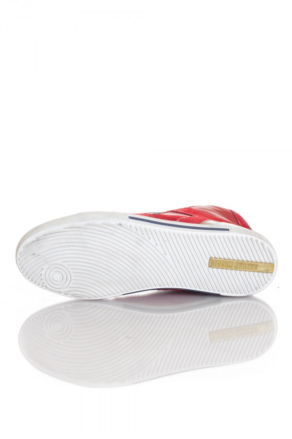 Baskets en cuir Homme Antony Morato MMFW00250/5015 CORAL