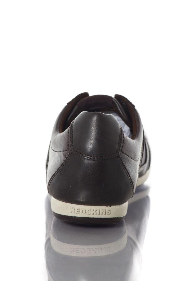 Baskets en cuir Homme Chaussures Redskins BREB CHOCOLAT