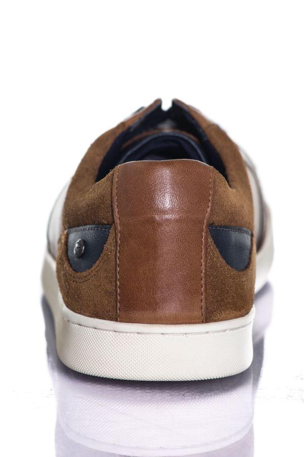 Baskets en cuir Homme Chaussures Redskins DEFER TAN+MARINE