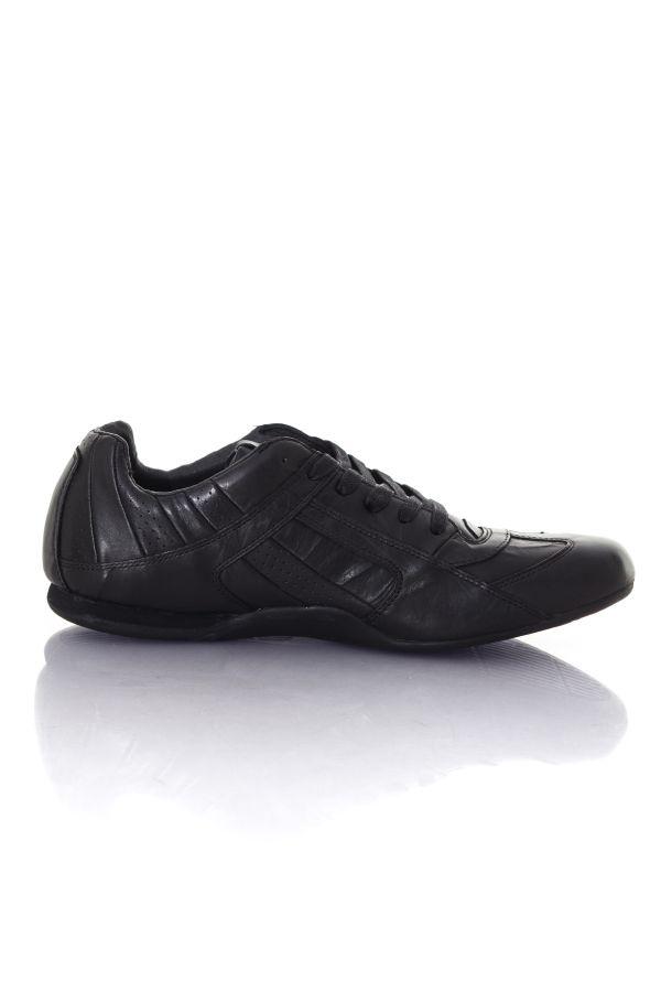 Baskets en cuir Homme Chaussures Redskins SERGENT NOIR FRIPPE