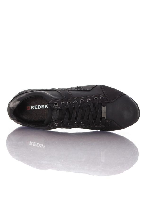 Baskets en cuir Homme Chaussures Redskins CUESTO NOIR