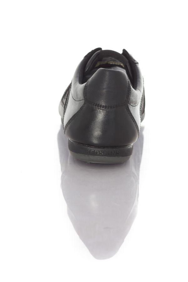 Baskets En Cuir Homme Chaussures Redskins BREB NOIR
