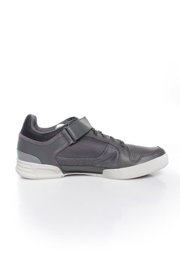 Baskets en cuir Homme GStar Footwear YARD BULLION LO DK GREY LEATHER & TEXTILE