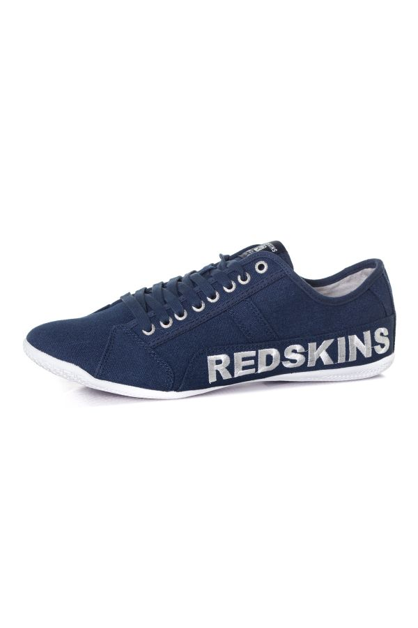 Baskets En Toile Homme Chaussures Redskins JANEL NAVY BLANC