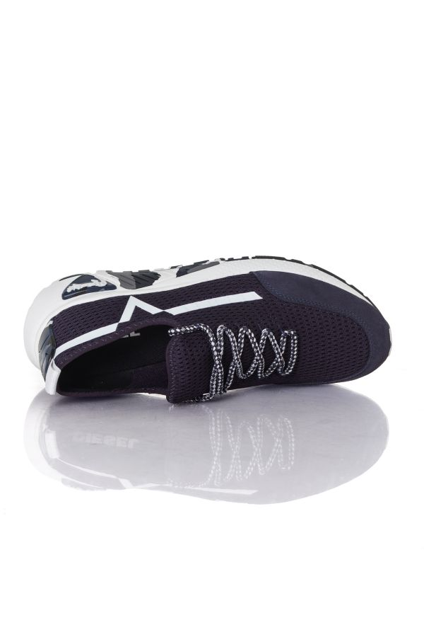 Baskets en toile Homme Diesel S-KBY BLUE IRIS/WHITE