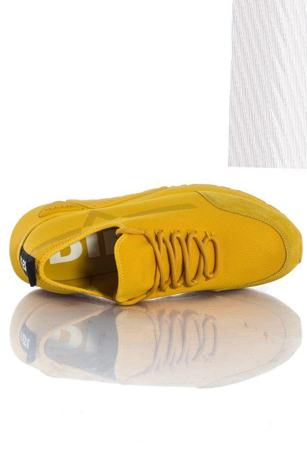 Baskets en toile Homme Diesel S-KBY STRIPE GOLDEN ROD T3040