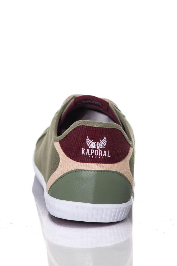 Baskets En Toile Homme Kaporal Shoes KAVID KAKI