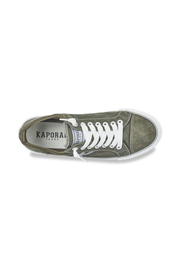 Baskets En Toile Homme Kaporal Shoes ODESSA KAKI 11954
