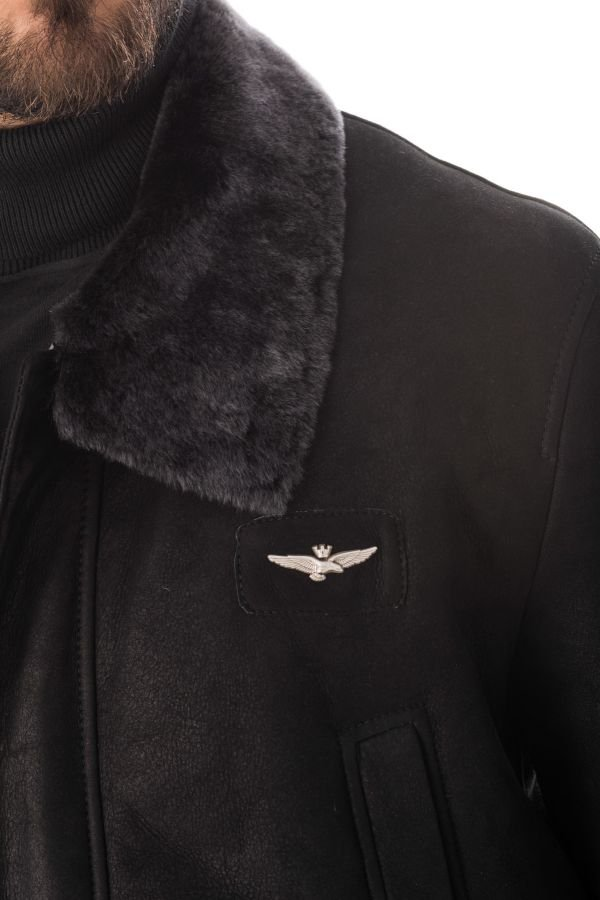 Blouson Homme Aeronautica Militare GIACCA 1431915 NERO