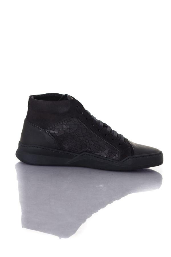Baskets en cuir Homme Antony Morato MMFW00833 9000