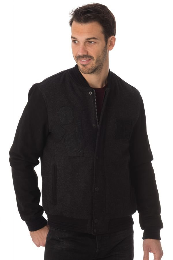 Blouson Homme Chevignon B-GAME GRIS ANTHRACITE