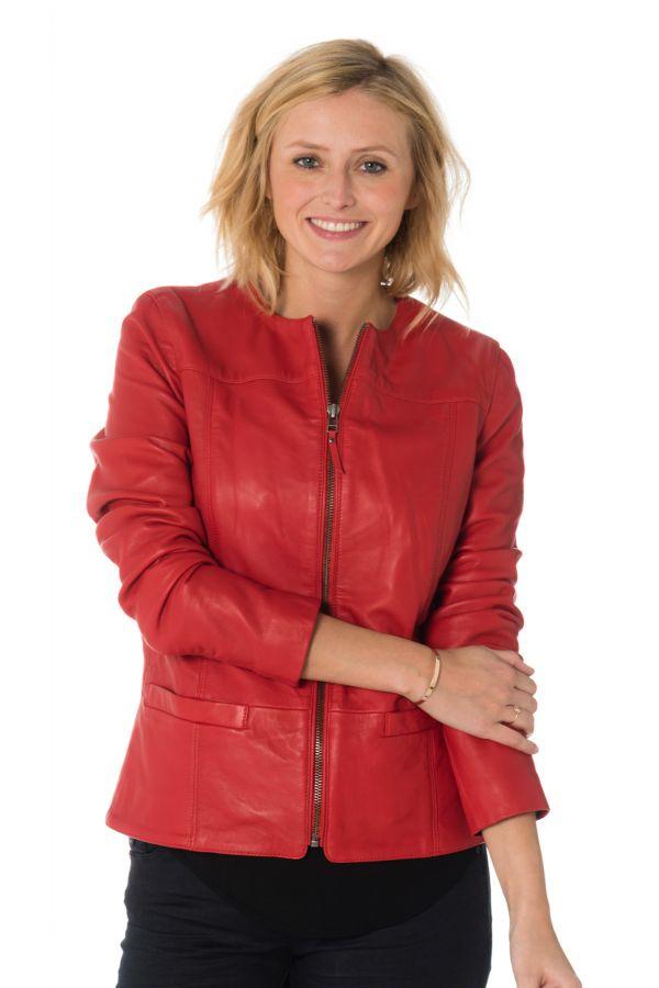 Blouson Femme Cityzen CAROLINA RED