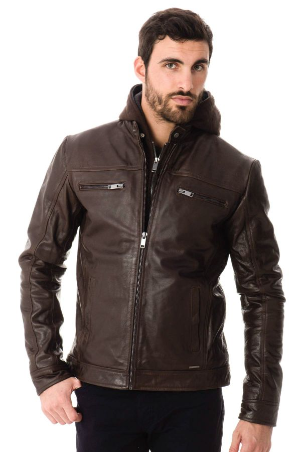 Blouson Homme Cityzen SEATTLE BROWN