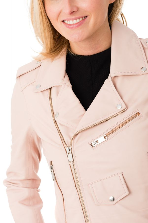 Light Cityzen Blouson Leeds Pink Femme a1wavq4xY