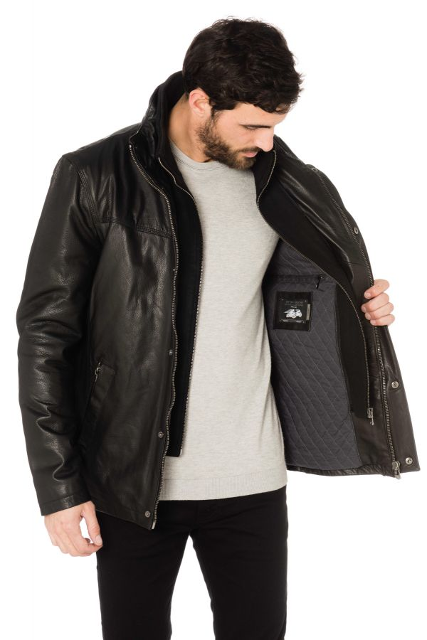 Blouson Homme Daytona DARWIN IC COW ADVENTURE BLACK