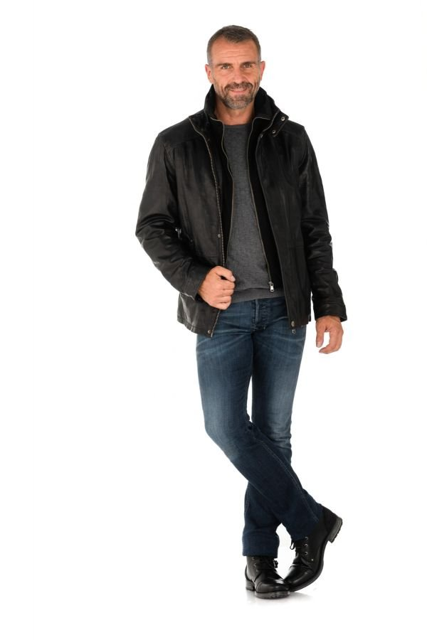 Veste Homme Daytona GLOSTER+IC SHEEP TIGER BLACK