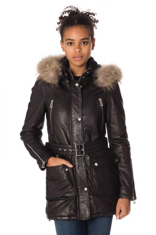 Veste Femme Daytona NEW SOLENN SHEEP VENNE BLACK