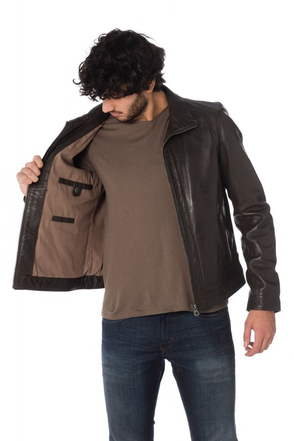 Blouson Homme Daytona GLOBE SHEEP BROWN ZZ