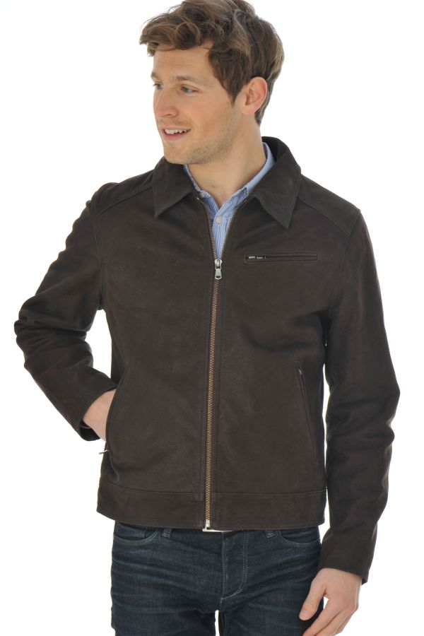 Blouson Homme Daytona OLIVEIRA COW MADISON BROWN