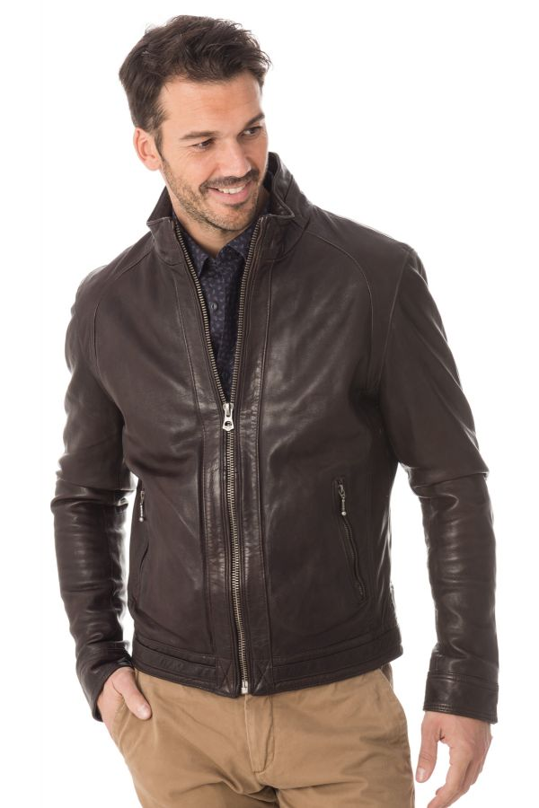 Blouson Homme Daytona TROTTER SHEEP RACER BROWN