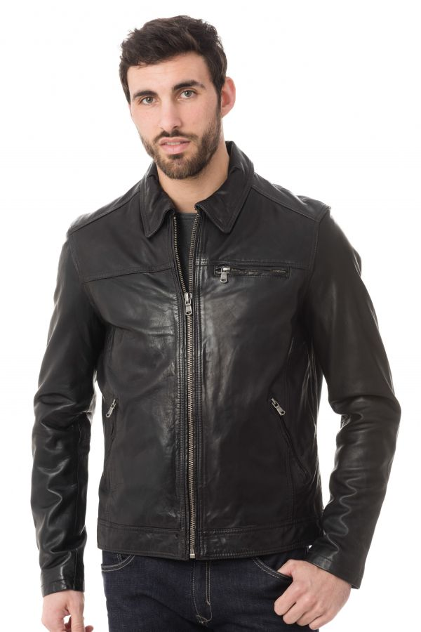 Blouson Homme Daytona MAJOR SHEEP TIGER BLACK