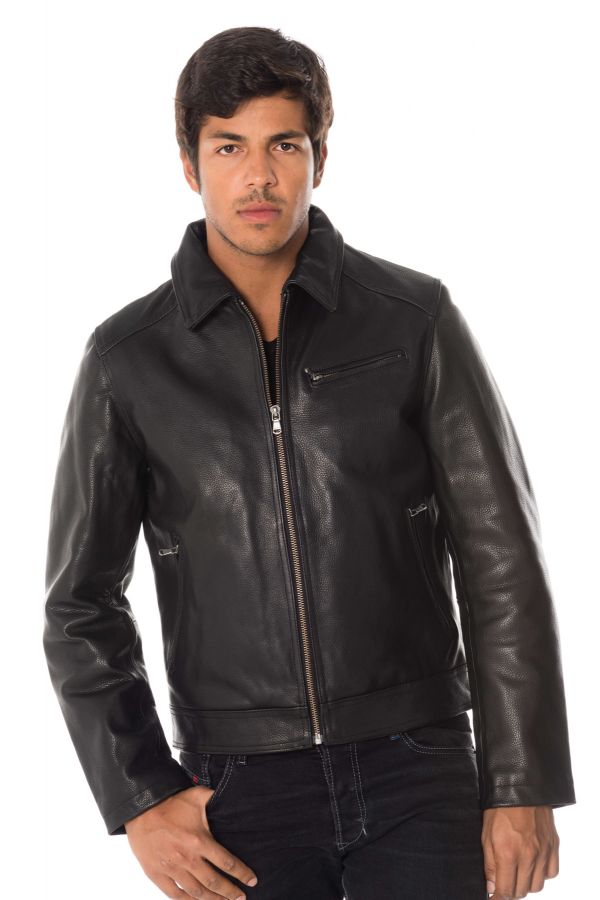 Blouson Homme Daytona OLIVEIRA COW ADVENTURE BLACK