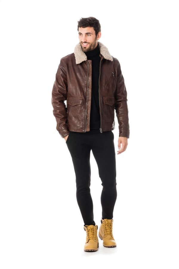 Blouson homme daytona bentley sheep racer bison cuir - Lycee jacobins beauvais portes ouvertes ...