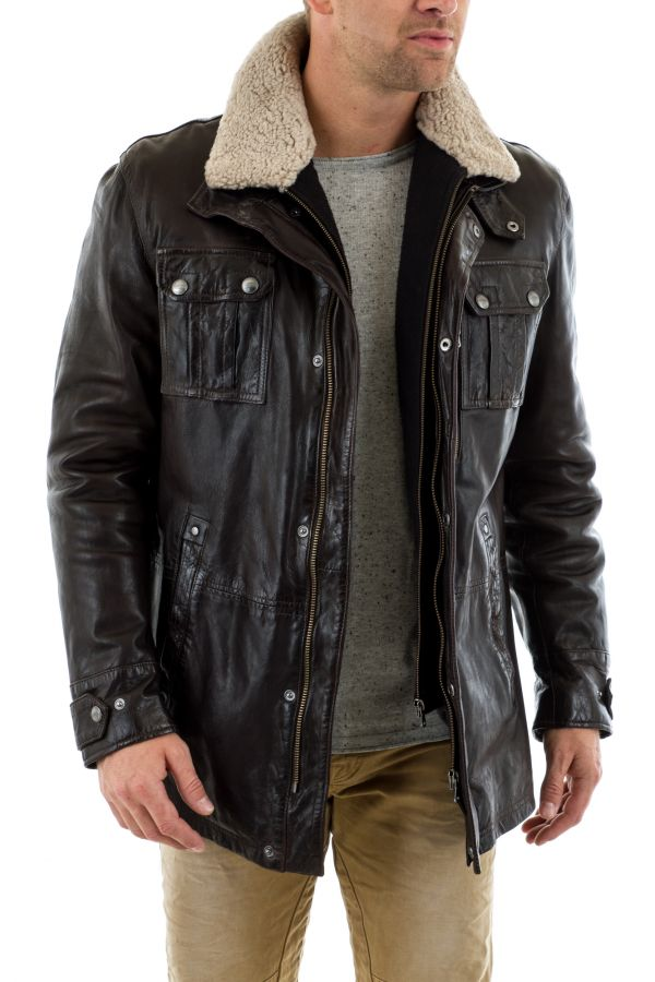 Veste Homme Daytona WINTER IC SHEEP TIGER REDDISH BROWN