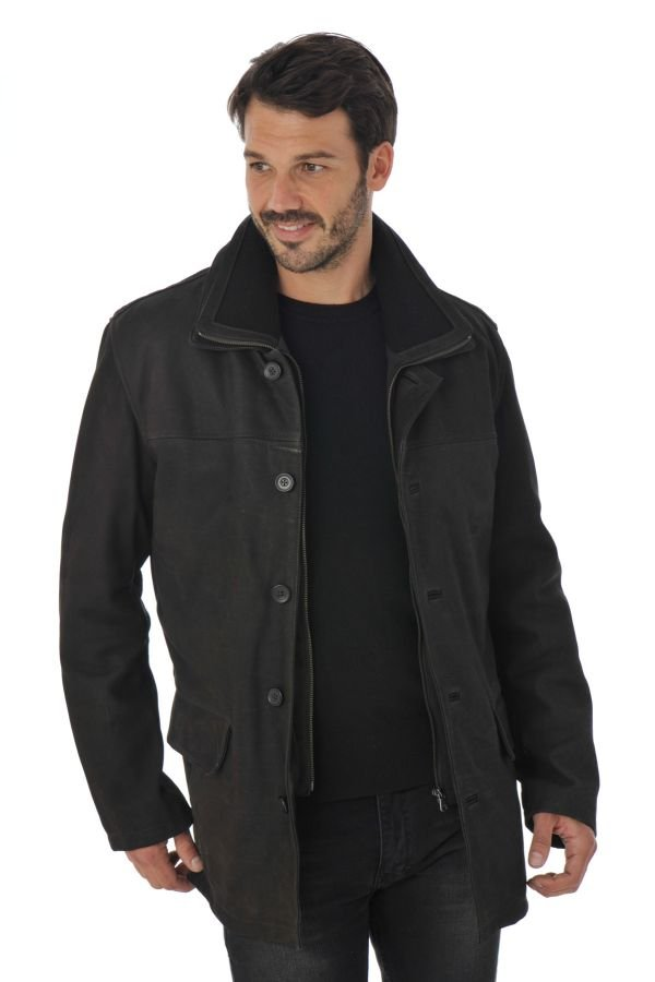 Veste Homme Daytona CAYENNE DA IC COW LUSSO REDDISH BROWN