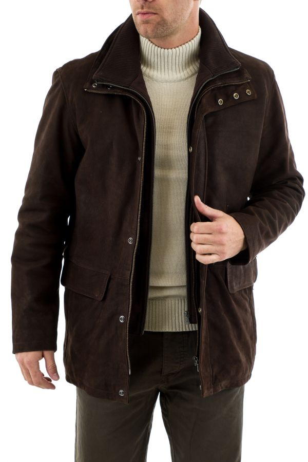 Veste Homme Daytona KARL IC COW MADISON BROWN