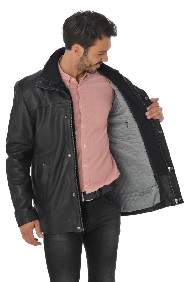 Veste Homme Daytona BALZAC IC COW ADVENTURE BLACK