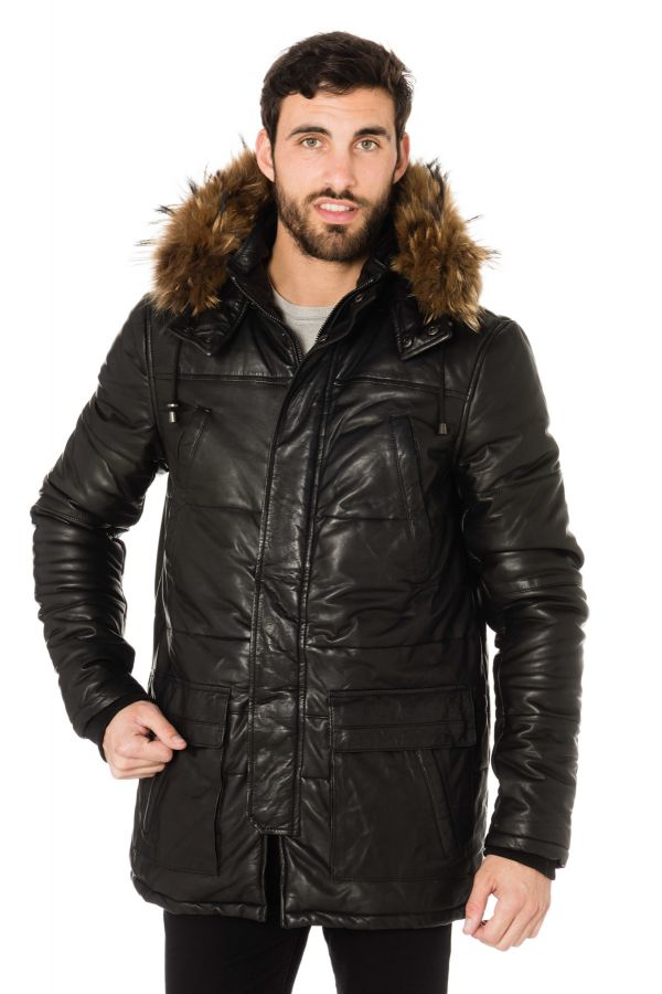 Blouson Homme Daytona AVALANCHE FUR SHEEP THIN BLACK ZZ
