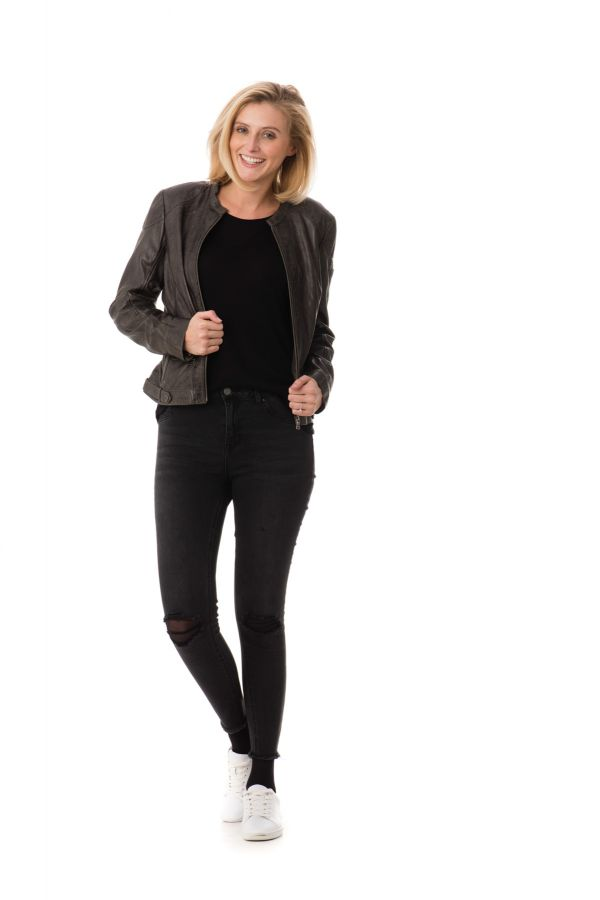 Blouson Femme Gipsy LUCIE W15 LVW ANTHRACITE