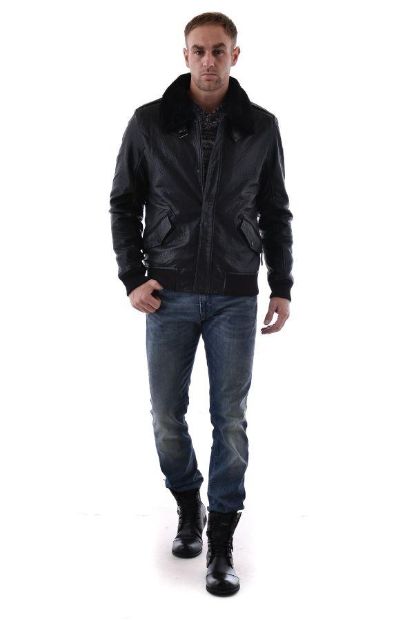 Blouson Homme Gipsy LEO NSLBV W BLACK