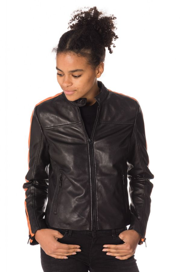 Blouson Femme Gipsy VEDA SF LAROXV BLACK