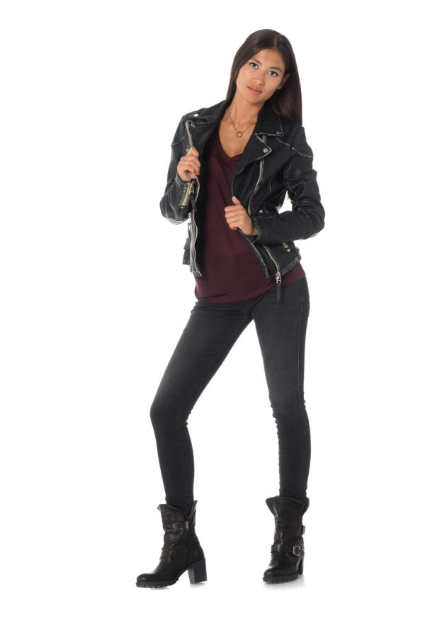Blouson Femme Gipsy PGG LULV BLACK