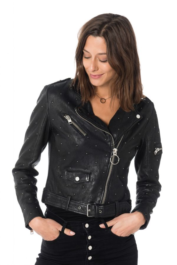 Blouson Femme Gipsy DIFFERENT 2 SF NS BLACK