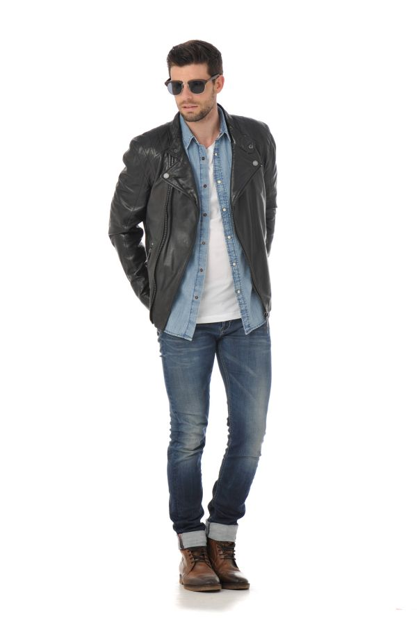 Blouson homme gipsy bogey sf nslv black zz cuir - Lycee jacobins beauvais portes ouvertes ...