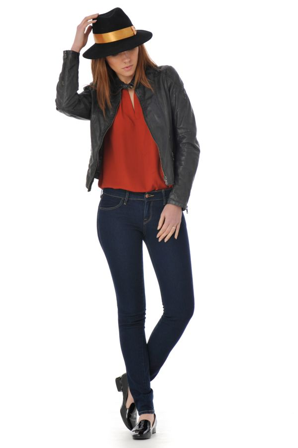 Blouson Femme Gipsy LETTY 2 SF LAMIV ANTHRACITE