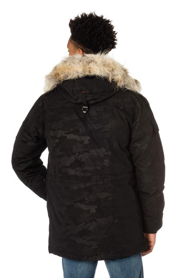 Cuir Everest Gris Edition Homme Premium Helvetica Veste Militaire Aq0wSE
